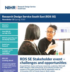 RDS newsletter sample cover